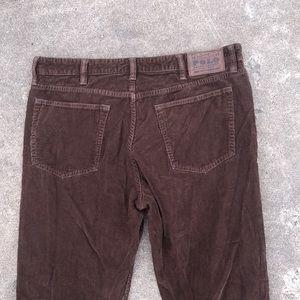 Vintage corduroy POLO pants